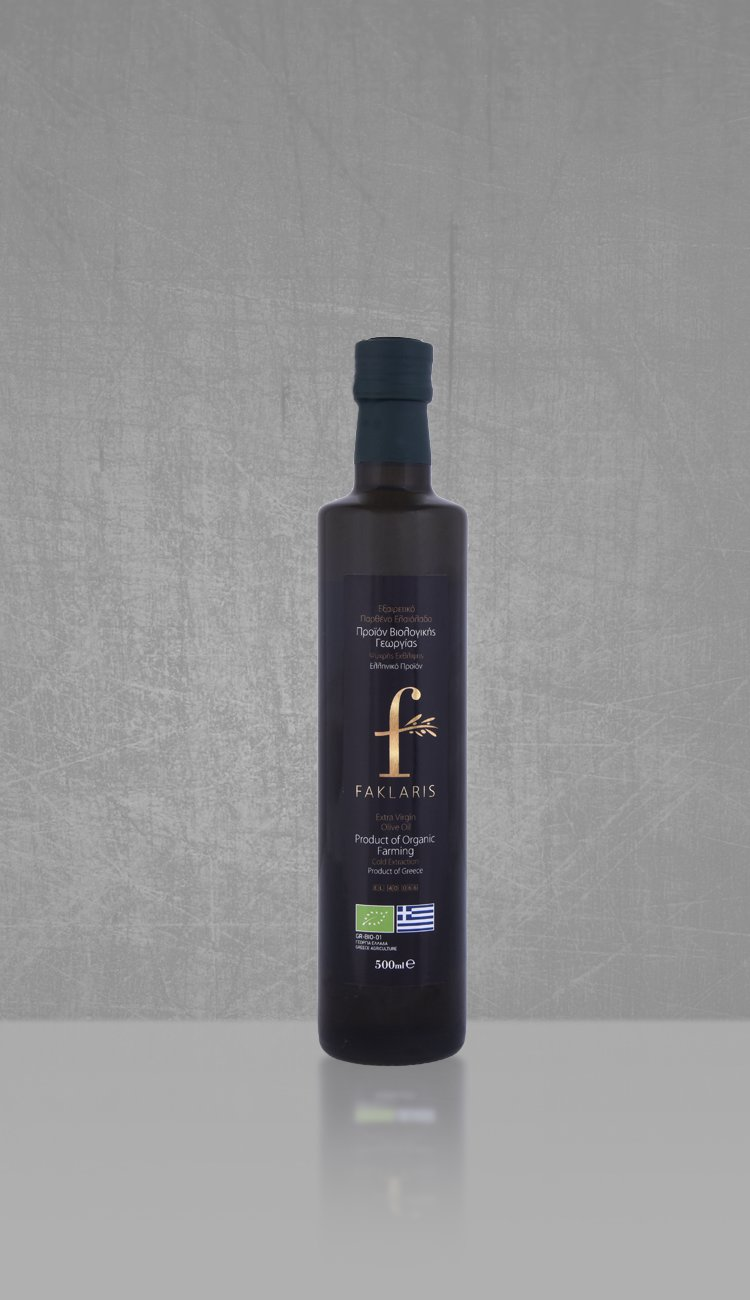 Organic extra virgin olive oil 500ml